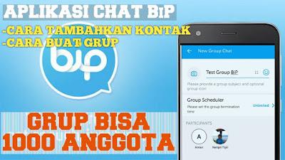 Cara Membuat Grup di BiP