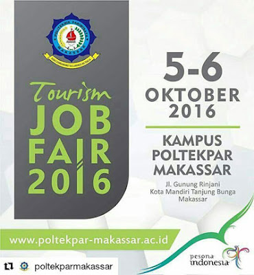 Tourism Job Fair 2016 – Makassar