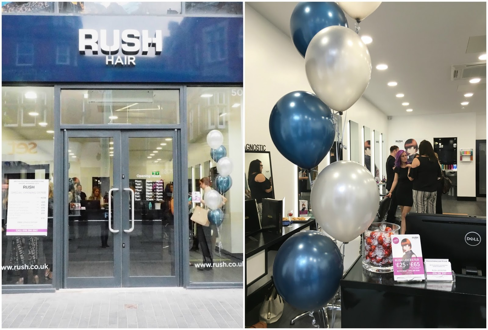 RUSH Leicester hair salon