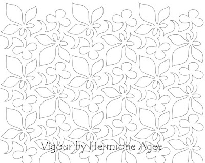 'Vigour' quilt pattern designed by Hermione Agee