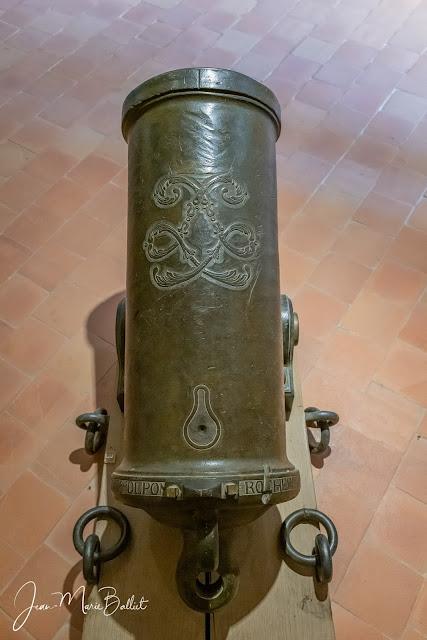 Obusier de 36, modèle1787 - Musée maritime de l'île de Tatihou