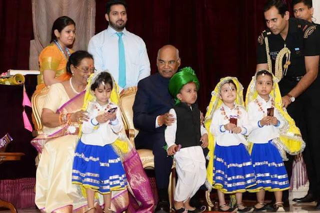 Raksha-Bandhan-Celebration-with-the-President-of-India-Shri-Ram-nath-Kovind