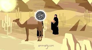 Ibrahim meninggalkan hajar