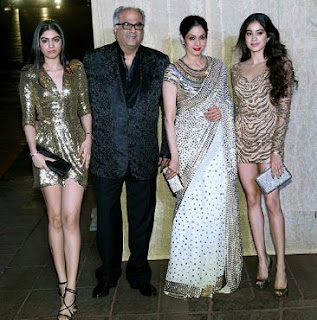 Jhanvi Kapoor Family Husband Son Daughter Father Mother Marriage Photos Biography Profile.