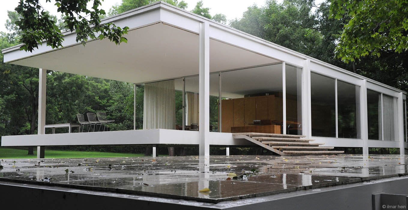 If Its Hip Its Here Archives The New LEGO Farnsworth House  A Look At The Original by