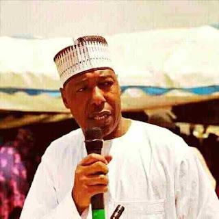 Umaru Zulum, the Governor of Borno state