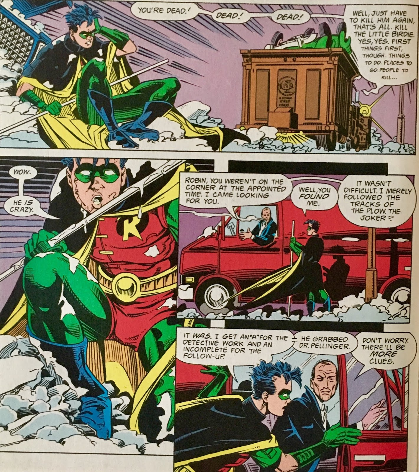 Chris is on Infinite Earths: Robin II: The Joker's Wild! #1