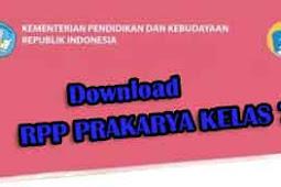 Download RPP Prakarya Kelas 7 K13 Revisi Terbaru