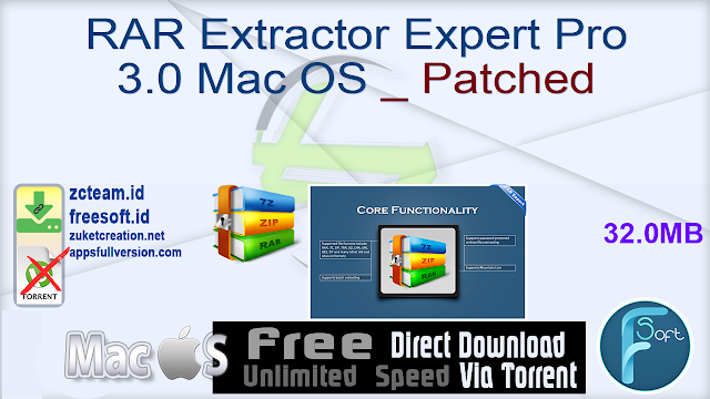 RAR Extractor Expert Pro 3.0 Mac OS _ Patched_ ZcTeam.id