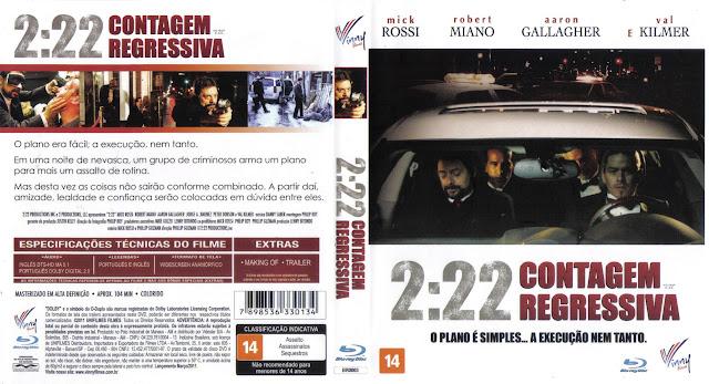 Capa Blu-ray 2:22 Contagem Regressiva