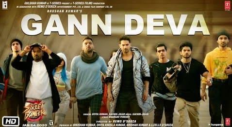 Gann Deva Lyrics, Divya Kumar, Sachin-Jigar, Street Dancer 3D