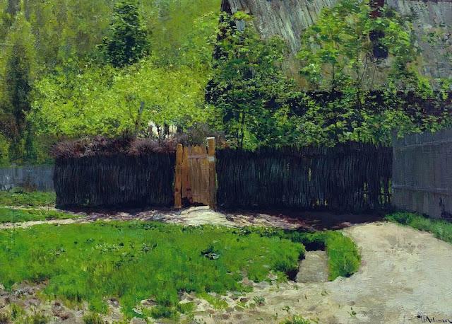 Исаак Ильич Левитан - Первая зелень. Май. 1883-1888