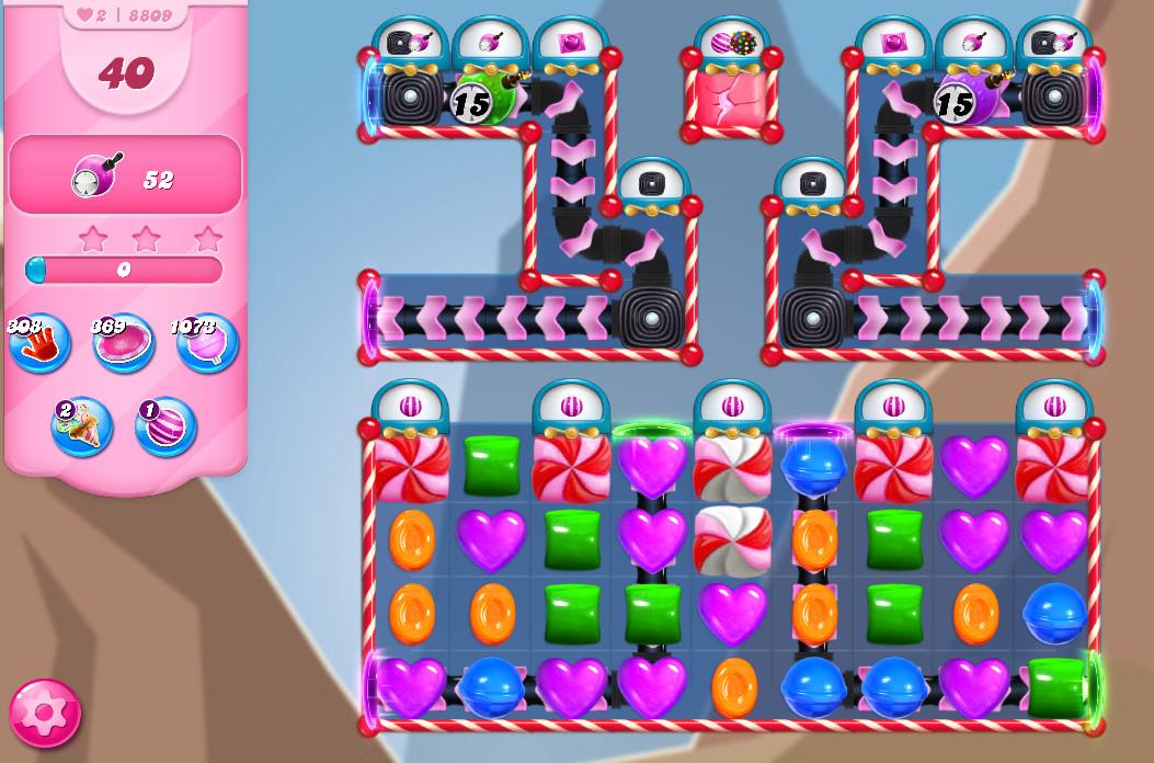 Candy Crush Saga level 8809