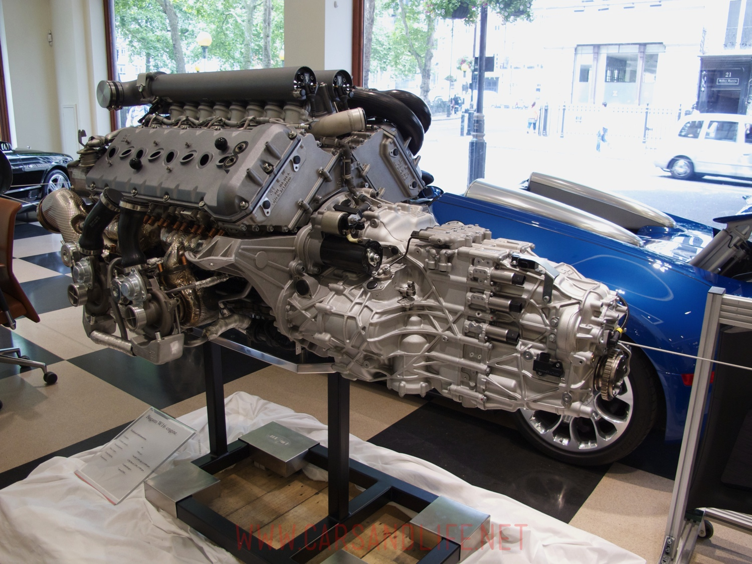 Bugatti Veyron W16 Engine And Gearbox