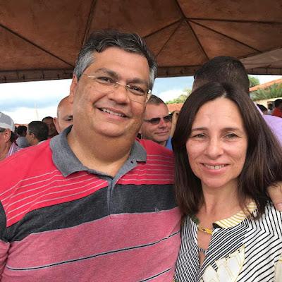 PREFEITA GILVANA EVANGELISTA PRESTIGIA A INAUGURAÇÃO DA MA 270, QUE LIGA PASTOS BONS A SUCUPIRA DO NORTE