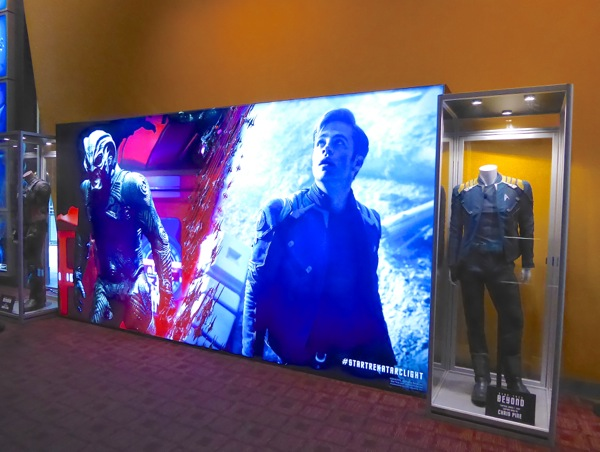 Star Trek Beyond movie costume exhibit