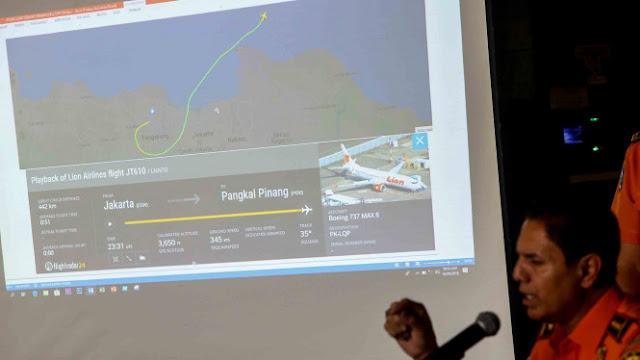 Tim SAR Temukan Bodi dan Roda Pesawat di Sekitar Lokasi Black Box