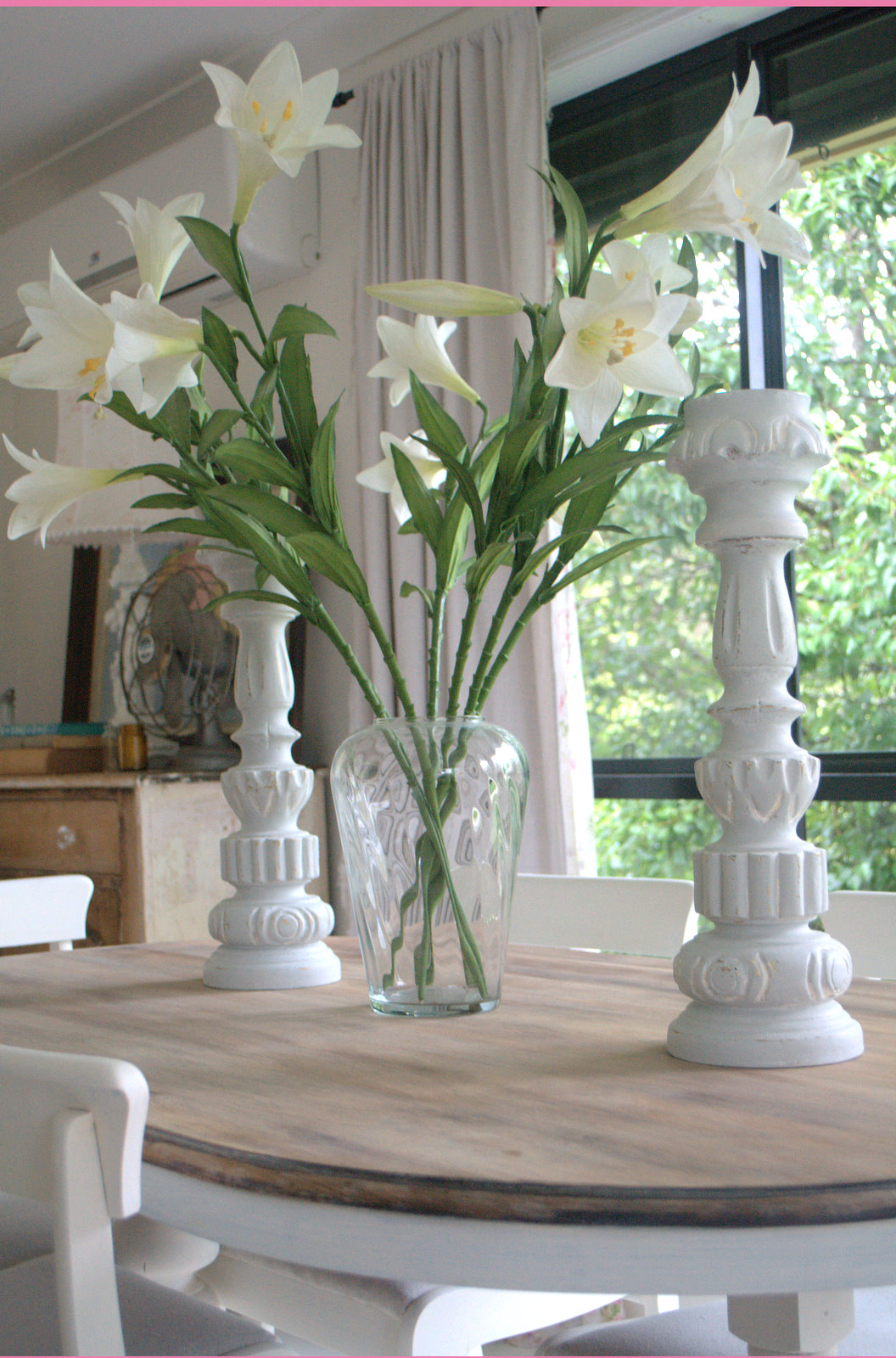 Dining Table Makeover Paint Me White