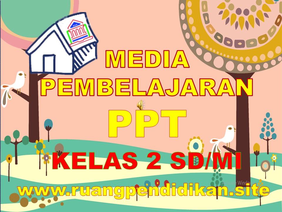 Media Ajar Power Point Kelas 2 SD/MI