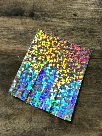 glittered cardstock