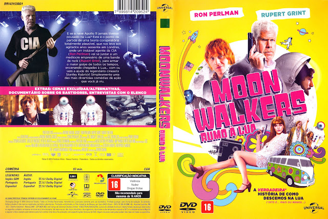 Capa DVD Moon Walkers Rumo A Lua