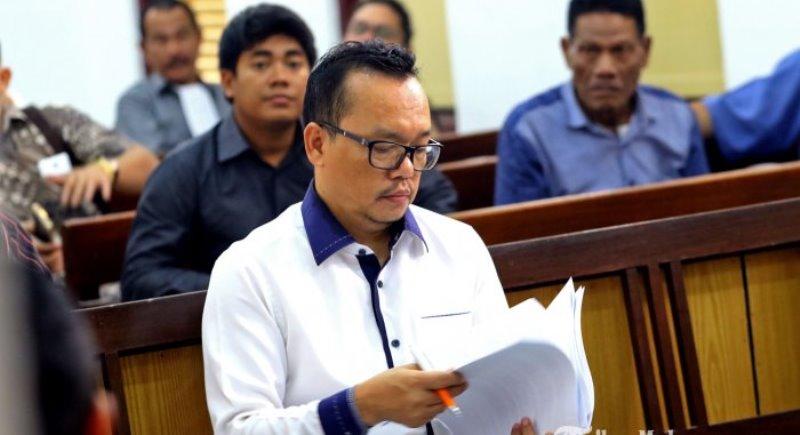 Kejati Sumut Eksekusi Eks Cawako Medan Ramadhan Pohan ke Lapas Tanjung Gusta