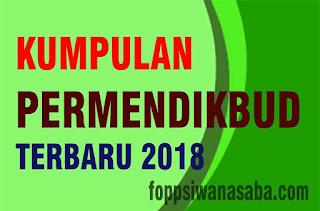 Download Kumpulan Permendikbud 2018