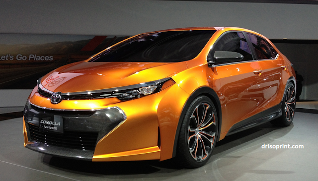 2016 Toyota Corolla Furia Specification