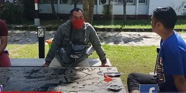 Viral Video Kasatreskrim Polres Lombok Tengah AKP Priyo Suhartono