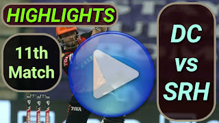 DC vs SRH 11th Match