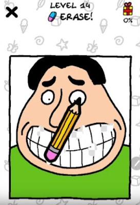 Jawaban Just Draw Erase Level 12