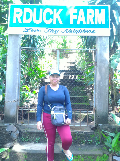 Banca Bancaan Falls landmark