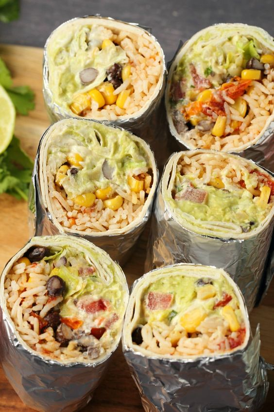 VEGAN BURRITO #vegan #veganrecipes #veggies #vegetarianrecipes #burrito