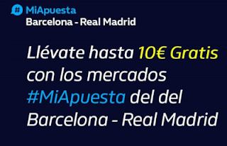 william hill promocion acb Barcelona vs Real Madrid 29 diciembre 2019