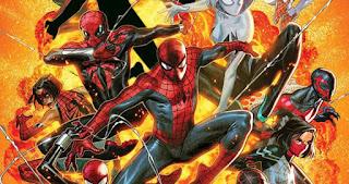 """Cómic: """"Spider-Geddon"""" el próximo evento del universo Spider-man"""