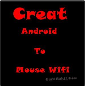 Android Menjadi Mouse
