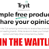 Join The TryIt Bazaarvoice Product Testing Waitlist!! IF CHOSEN YOU WILL GET AMAZING FREE PRODUCTS!!