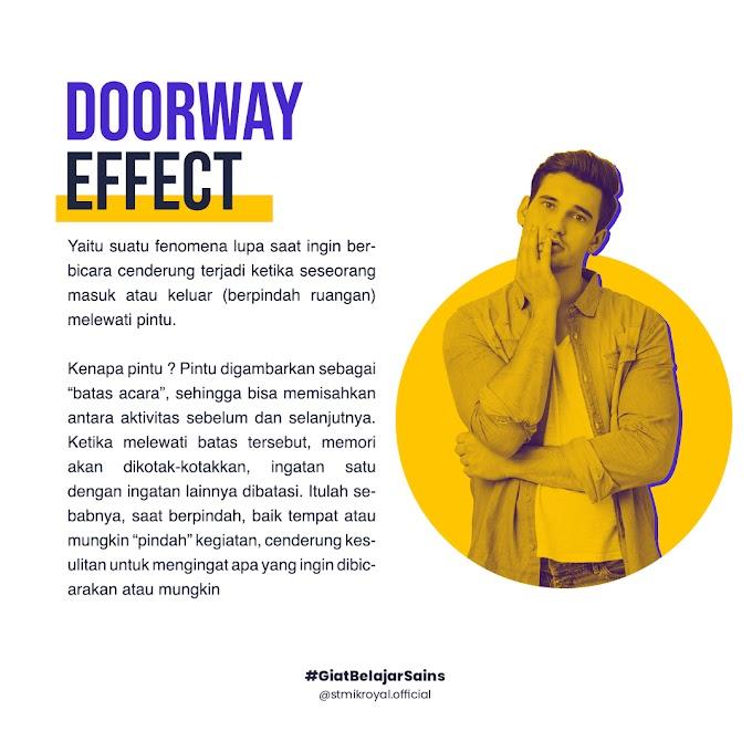 Doorway Effect: Apa, sih, itu?