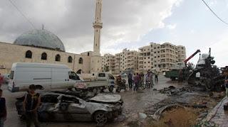 Serangan Pesawat Rusia Membunuh 23 Orang Di Kota Idlib Suriah - Commando