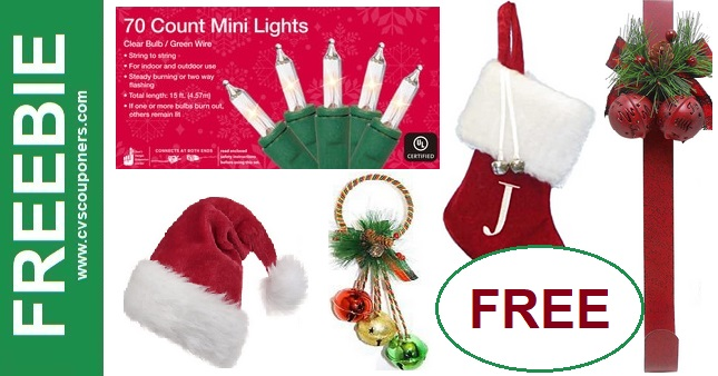FREE Holiday Lights & Decorations at CVS