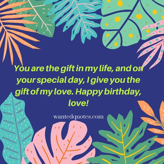 Love quotes for boyfriend birthday card Awesome