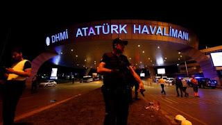 Korban Meninggal Akibat Bom Turki Mencapai 36 Orang, 150 Orang Luka Luka - Commando