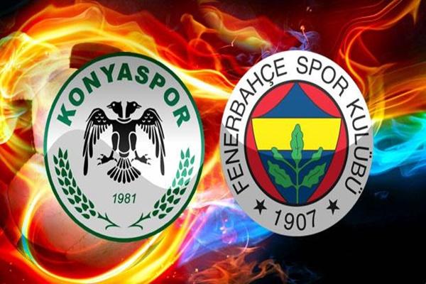 Fenerbahçe Konyaspor Maçı canlı izle