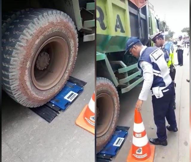 Gubernur WH: Tindak Tegas Truk  Tronton Overtonase