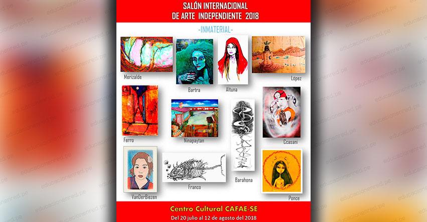 CAFAE-SE te invita al «Salón Internacional de Arte Independiente 2018» hasta el 12 de agosto