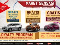 Program Penjualan Mitsubishi Motors Maret 2017