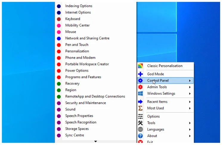 Win10 All Settings : Δωρεάν λογισμικό για  εύκολη πρόσβαση και χρήση διαφορετικών ρυθμίσεων στα windows