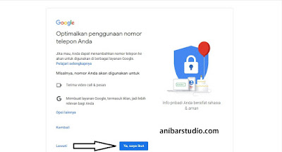 Cara mudah dan lengkap membuat email google - gmail TERBARU | anibarstudio.com