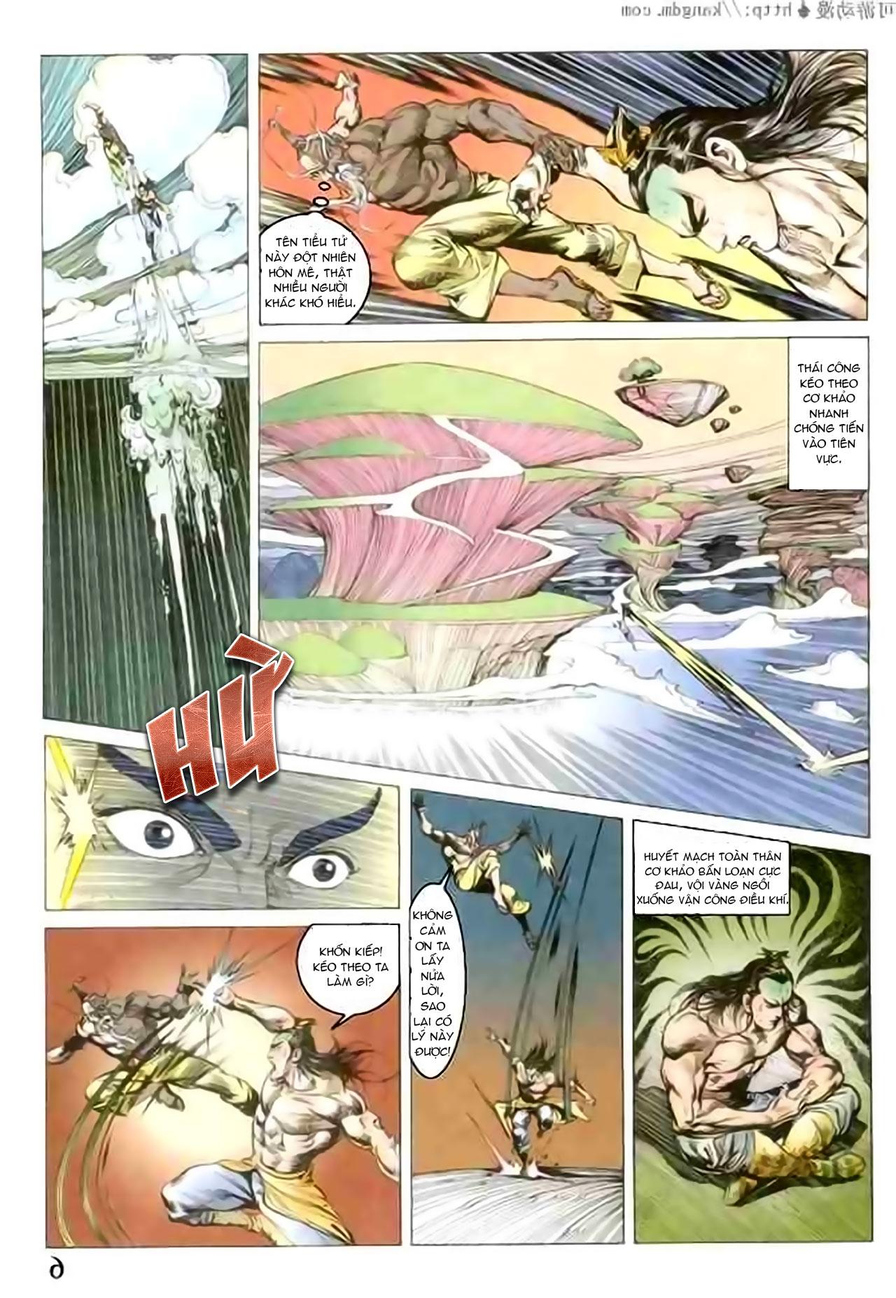Cơ Phát Khai Chu Bản chapter 100 trang 4