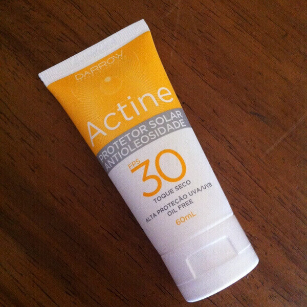 Actine Protetor Solar Antioleosidade FPS30 Darrow